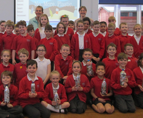Pupils take action on plastic