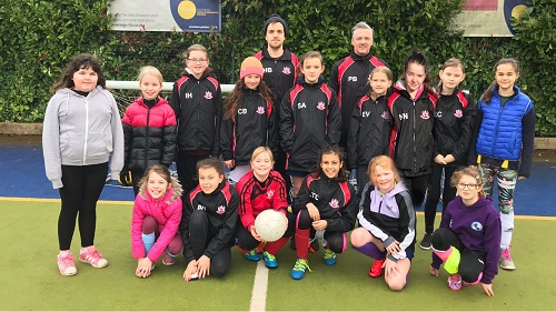 Thornbury Town wants girls to give football a go