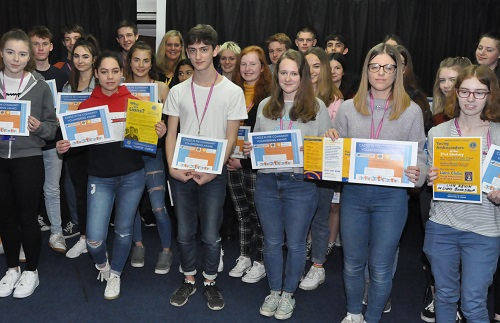 Castle sixth-formers' outstanding community work recognised
