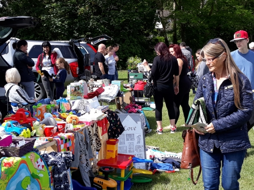 Car boot raises cash for Castle School