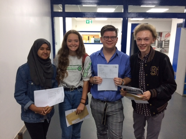 Castle School celebrates 'strong' GCSE results