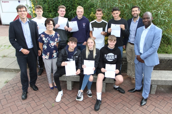 Marlwood School head 'proud' as GCSE results released