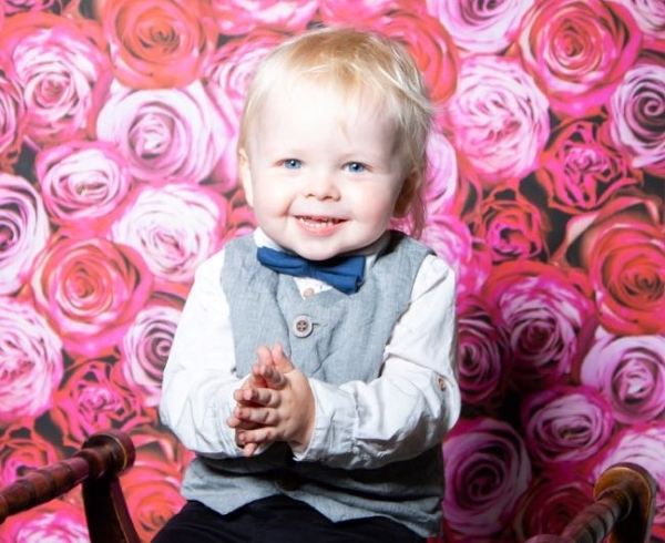 Thornbury toddler Jackson's smile is winning over pageant judges