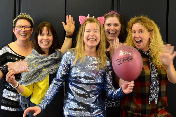 Sparkle Up Your Day for Thornbury charity Brain Tumour Support