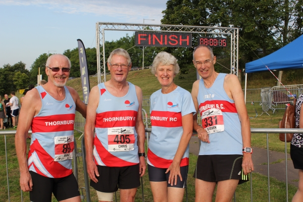 Seniors run for Thornbury in the Severn Bridge Half Marathon and 10k