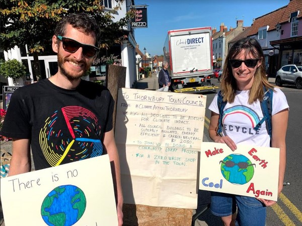 We must act now - call for action on climate change in Thornbury