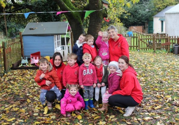 Village pre-school's children are 'eager to learn'