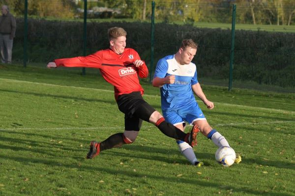 Thornbury Town out of FA Vase but flying high in league