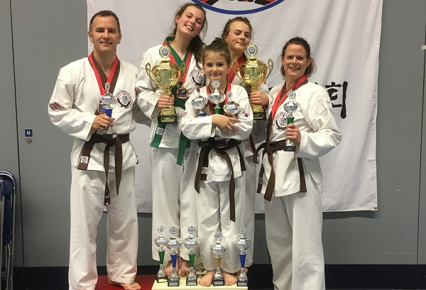 Medals prove that martial arts skill runs in this family