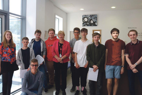 BTE Academy celebrates outstanding A Level results
