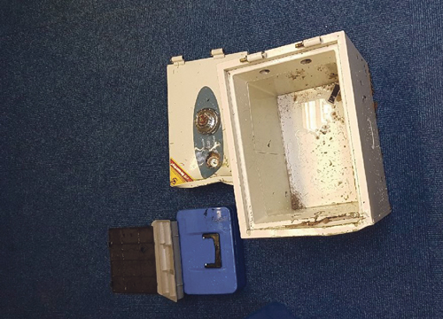 Appeal for witnesses after stolen safe is dumped in Thornbury