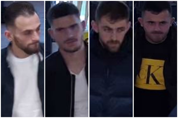 These four men are wanted by police over Thornbury cannabis factory