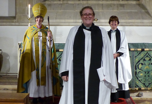 New Thornbury priest in charge is welcomed