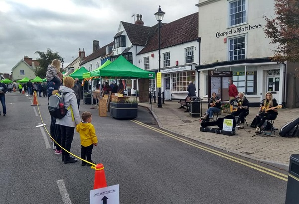 Street market for Thornbury approved