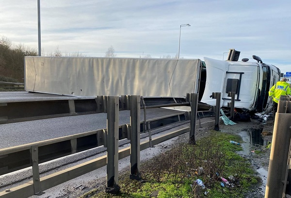 Lorry driver killed in crash which closes M5 between Bristol and Thornbury