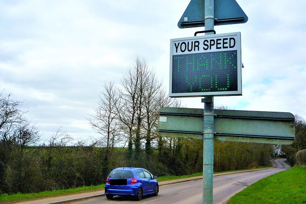 Anonymous donor helps tackle speeding in villages
