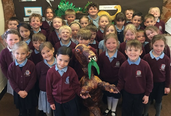 Dinosaurs come to life at Manorbrook