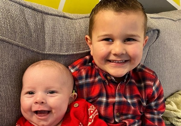 Parker walks 62 miles to help charity supporting his baby brother
