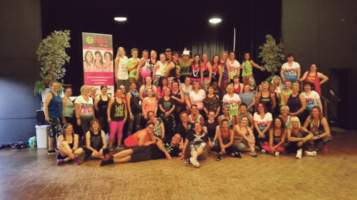 Zumba fans get ready for charity challenge