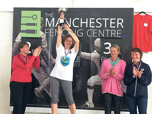 Fencing champion qualifies for World Championships