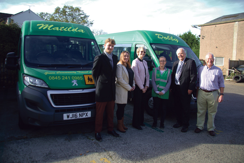 New buses for community transport