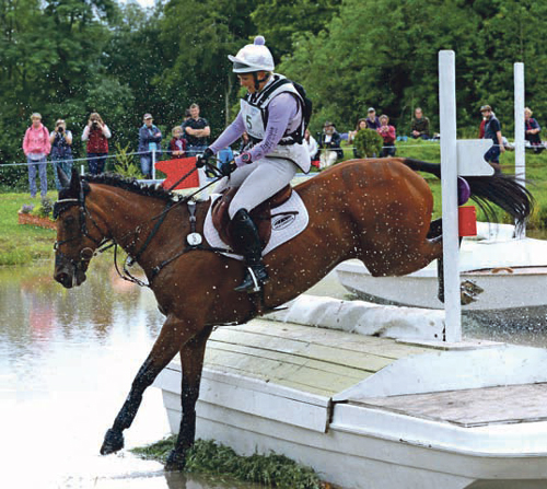 Gemma's soulmate carries her to double success at Gatcombe's eventing festival