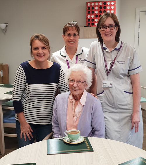 Great grandmother is first patient in new Thornbury unit