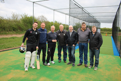 Gloucestershire legends open new nets