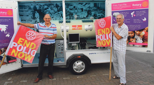 Thornbury Rotary – End Polio Now Campaign