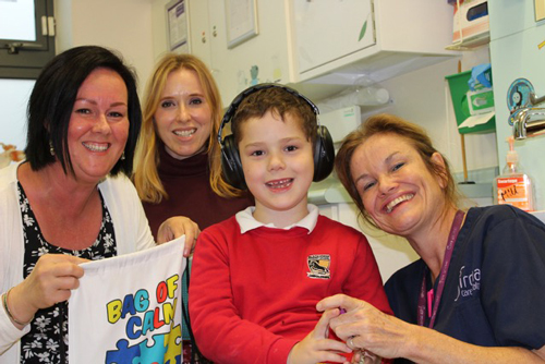 Mum's bag of calm helping young patients at minor injuries unit