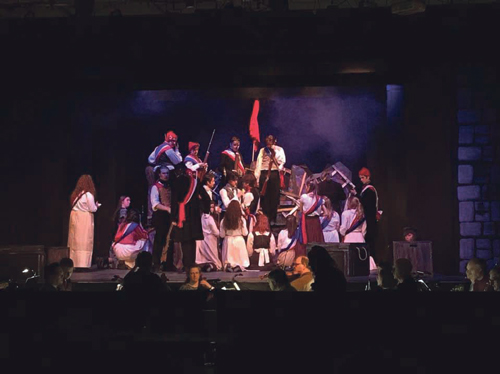 "Youth drama group impresses with ""triumphant"" Les Miserables"
