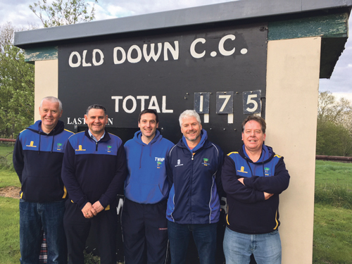 All aboard as cricket club celebrates special anniversary