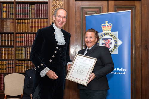 Thornbury police officer wins award