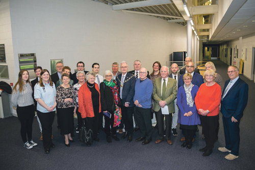 Thornbury volunteers thanked for their work