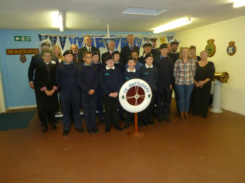 Thornbury Sea Cadets welcome visitors