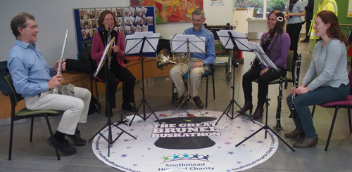 Wind quintet to perform in aid of hall redevelopment
